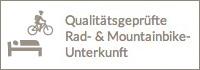 Qualitätsgeprüfte Rad- & Mountainbikeunterkunft