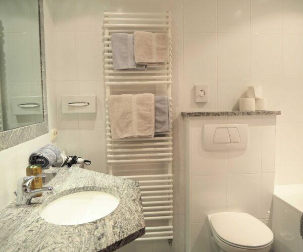 Badezimmer 1-Zimmerwohnung