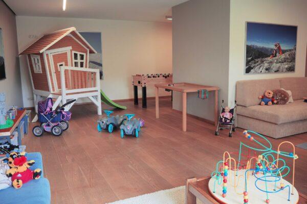 Kinder- und Jugendraum im Apartment Pale